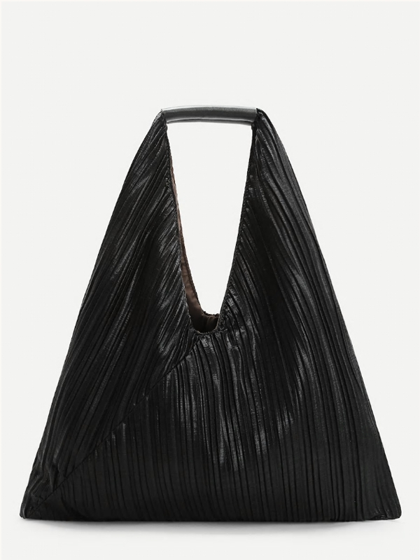 Дамска чанта Pleated Design Tote Bag