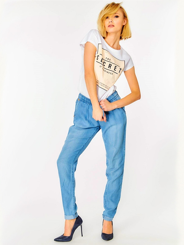 Дамски дънки Heathered Loose Fit Jeans