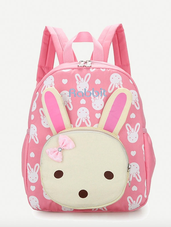 Детска раница Rabbit Design Pocket Front Backpack