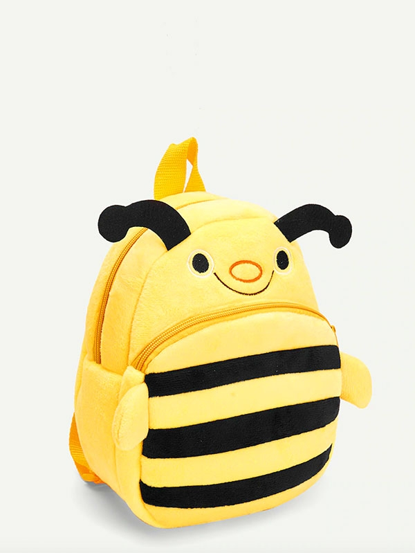 Детска раничка ПЧЕЛИЧКА Kids Bee Design Cartoon Zipper Backpack