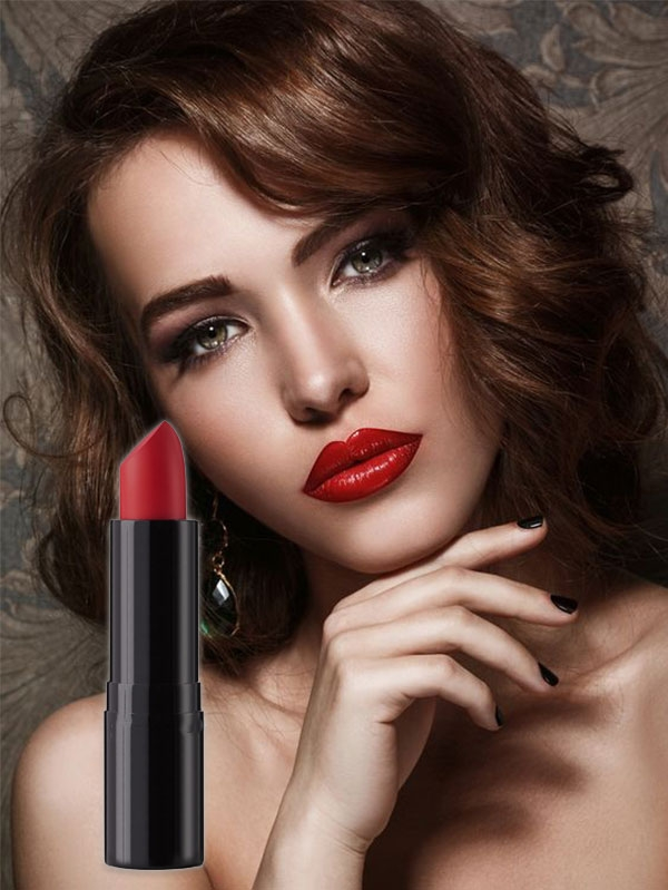 Матово червило Deep Matte Red Lipstick 80