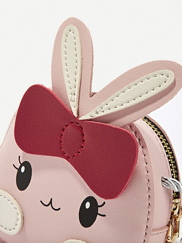Мини раничка Girls Ear Decor Cartoon Crossbody Bag