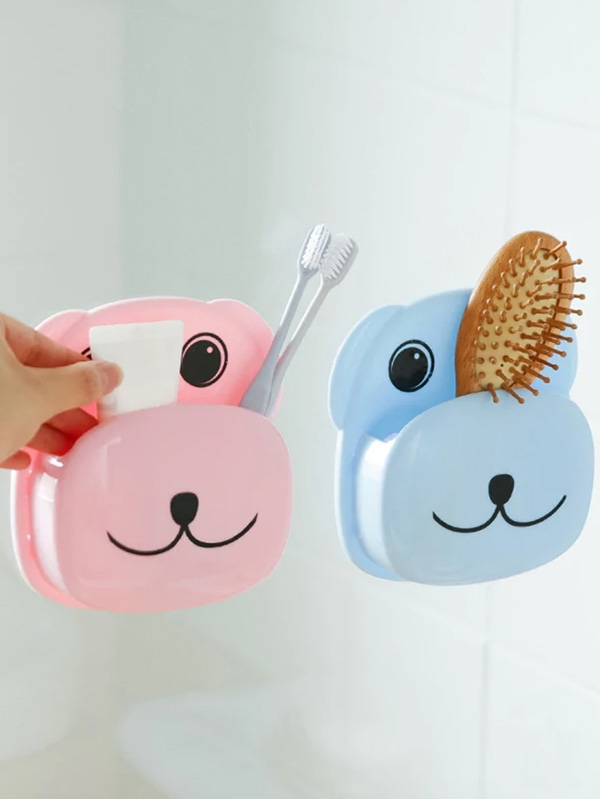 Органайзер за баня Wall Mounted Cartoon Toothbrush Rack