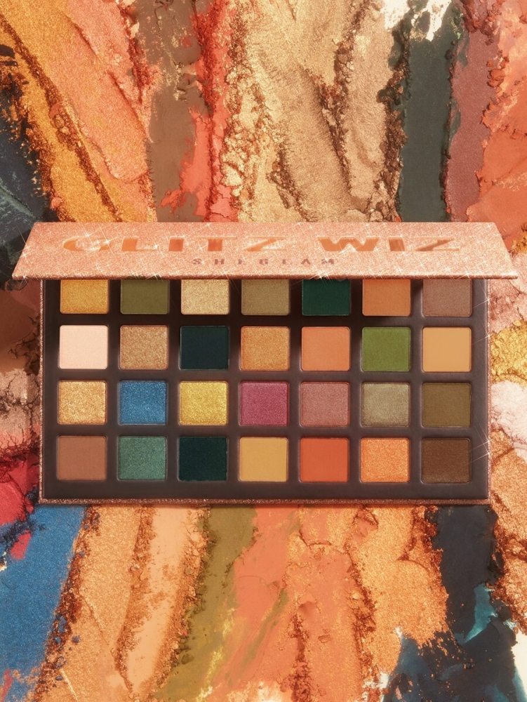 Палитра сенки за очи The GLITZ WIZ Eyeshadow Palette BRICK LANE